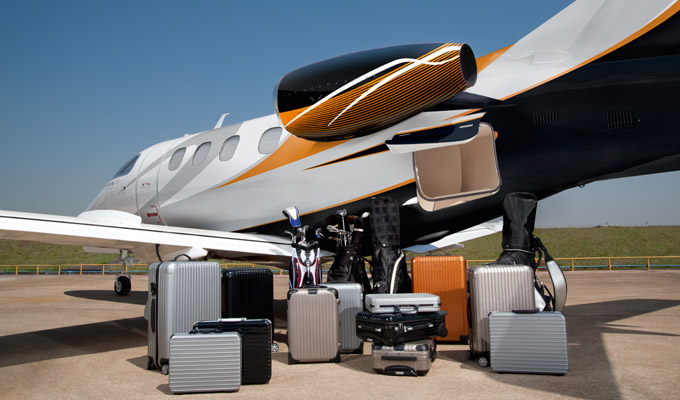 The Phenom 100 offers by far the best in class baggage capacity.