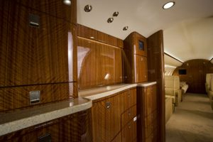 The Challenger's full service galley.